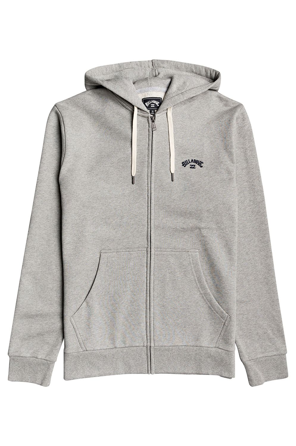 Sweat Fecho Billabong ORIGINAL ARCH ZH Grey Heather