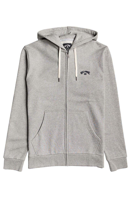 Billabong Sweat Zip Hood ORIGINAL ARCH ZH Grey Heather
