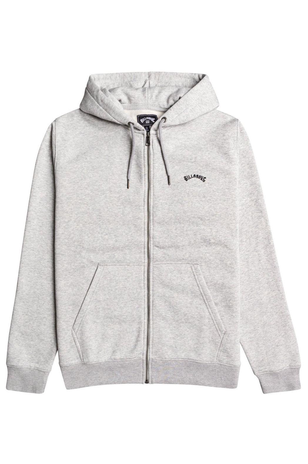 Billabong Sweat Zip Hood ORIGINAL ZH Grey Heather