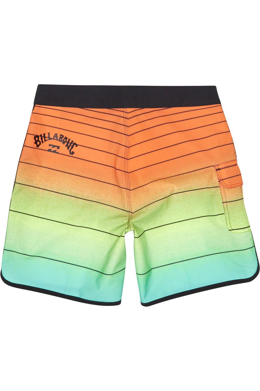 Boardshorts Billabong 73 STRIPPE PRO BOY Neon Orange