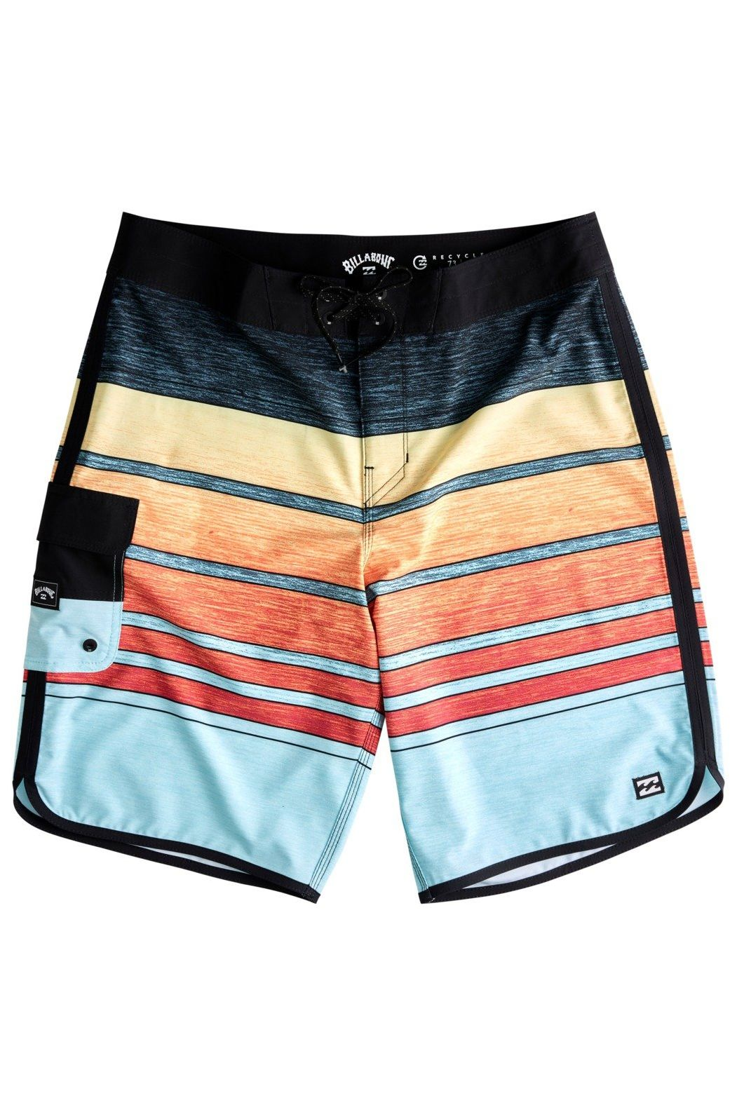 Billabong Boardshorts 73 STRIPE PRO BOY Neon