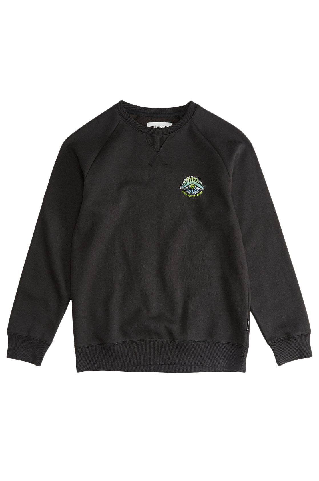 Sweat Basica Billabong ICONIC Black