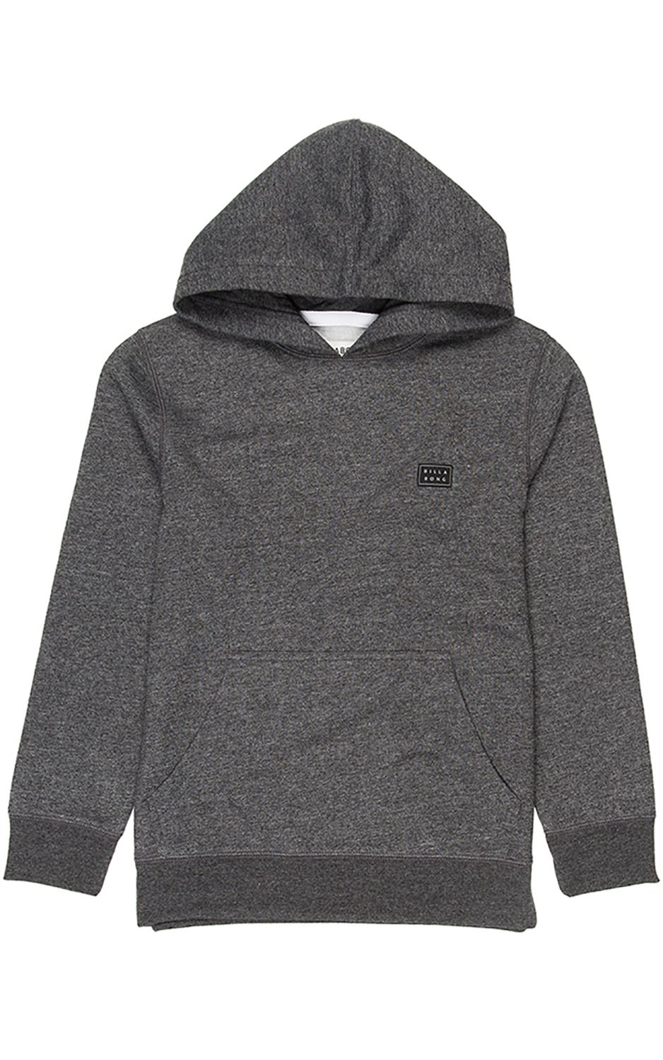 Sweat Capuz Billabong ALL DAY BOY Dark Grey Heath