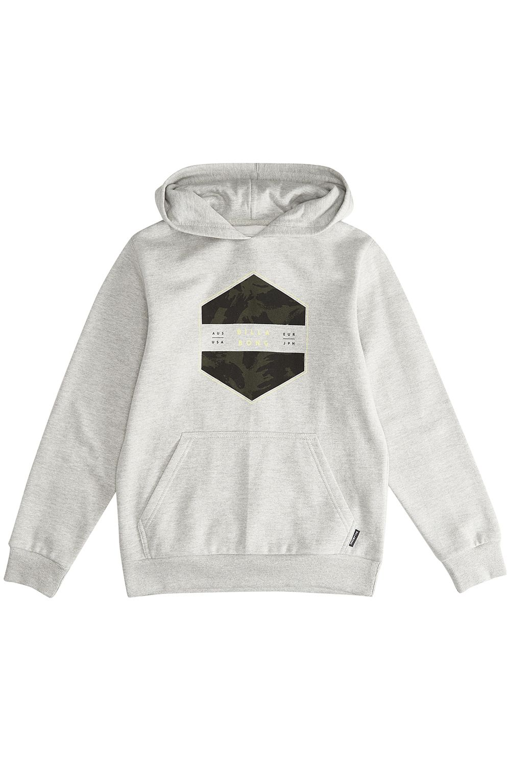 Billabong Sweat Hood ACCESS Grey Heather
