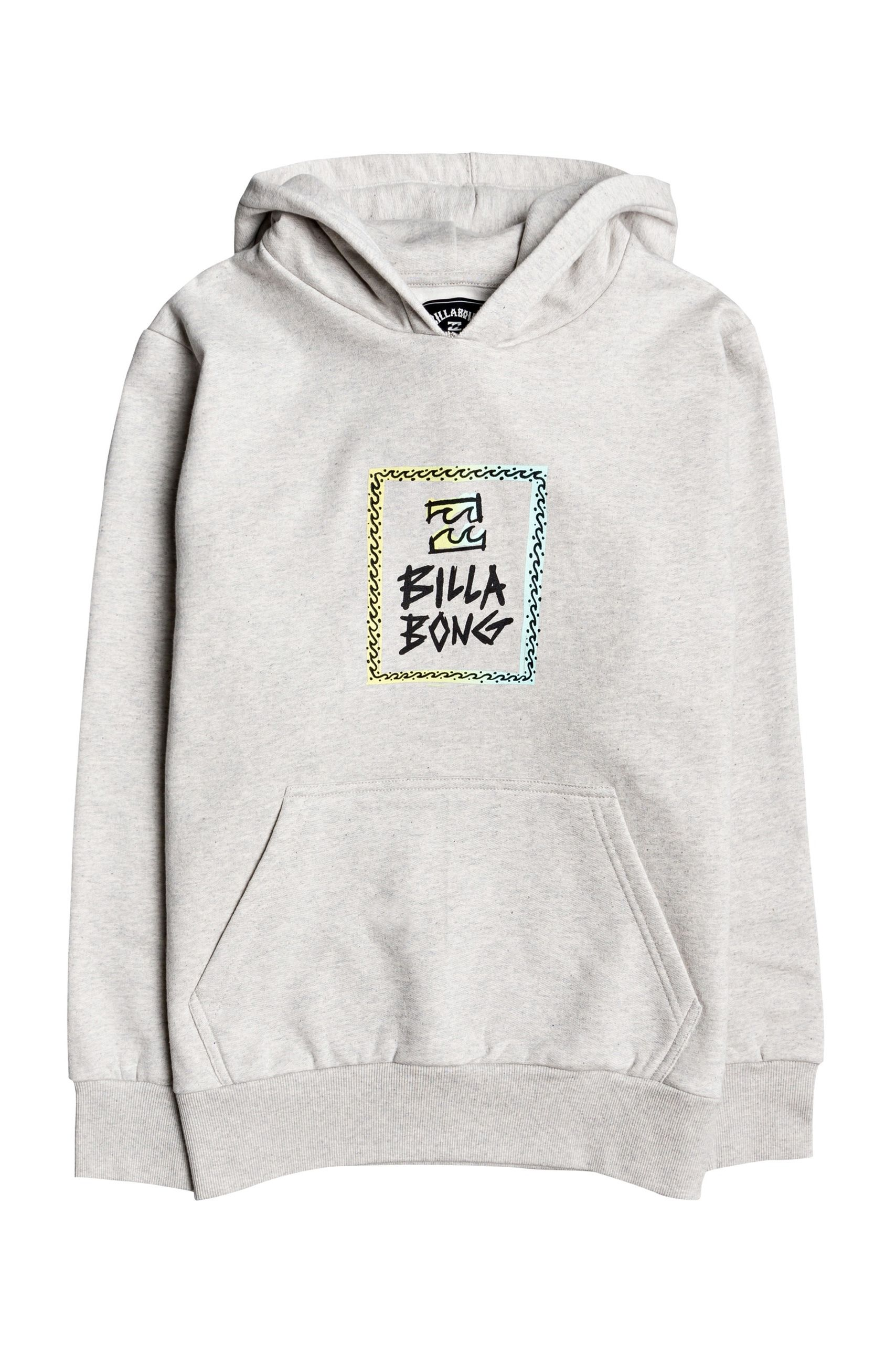 Sweat Capuz Billabong BE THERE PO BOY Grey Heather