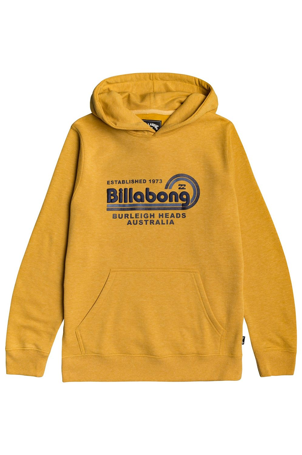 Sweat Capuz Billabong REPAIR PO BOY Mustard