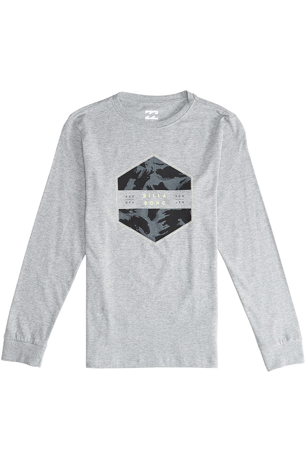 Billabong L-Sleeve ACCESS Grey Heather