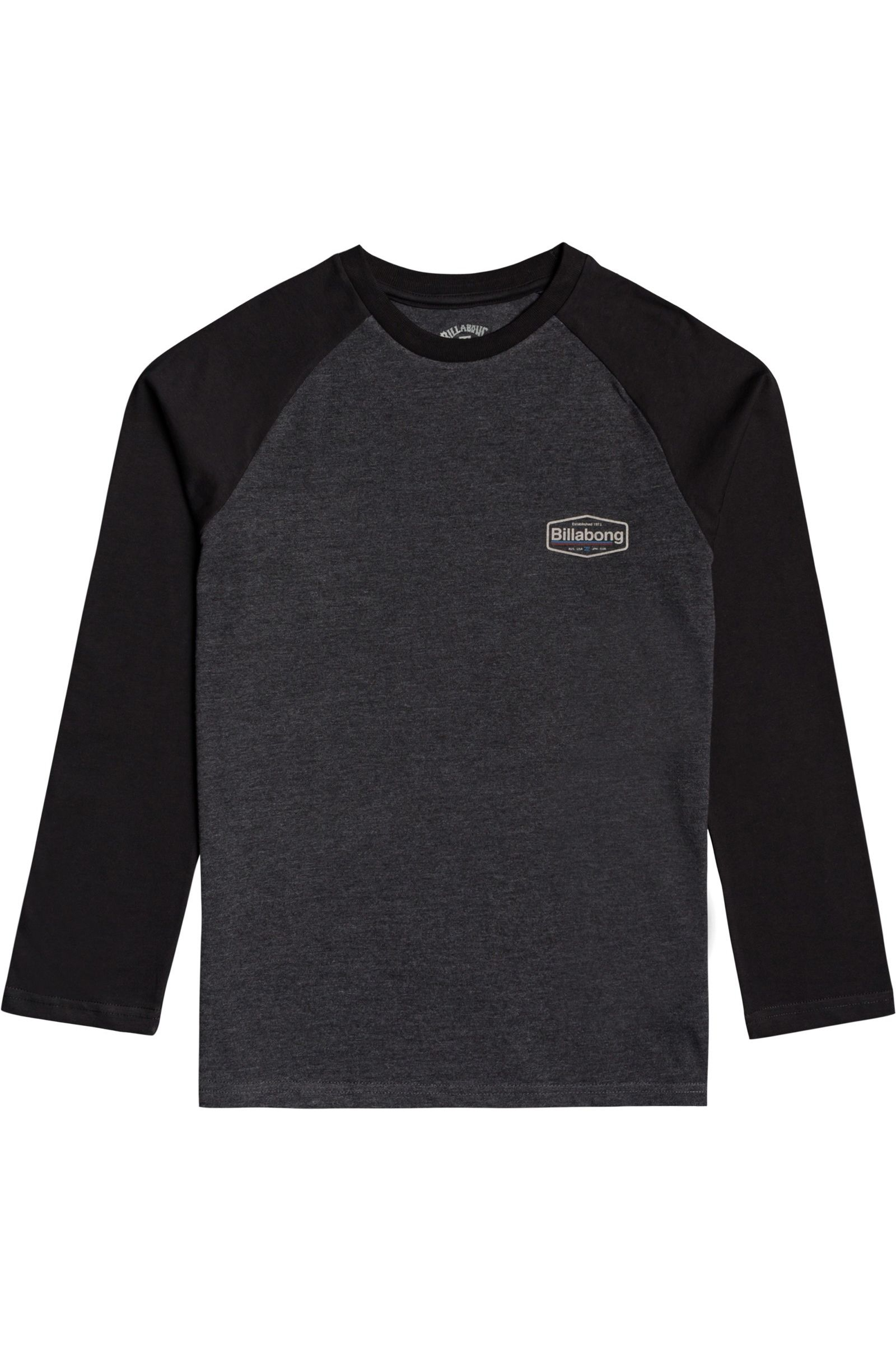 Billabong L-Sleeve MONTANA LS BOY Black