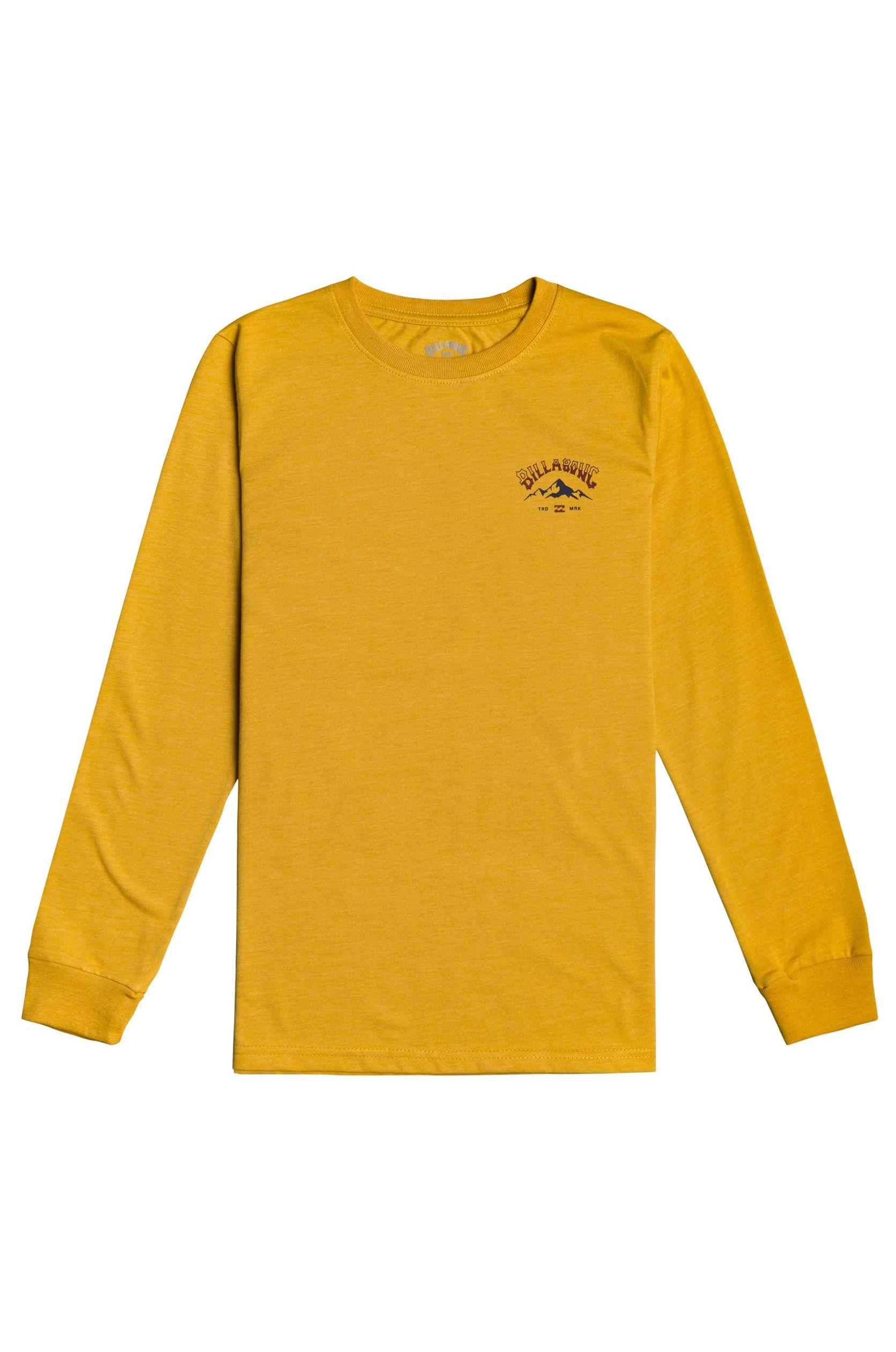 L-Sleeve Billabong ARCH PEAK LS BOY Mustard