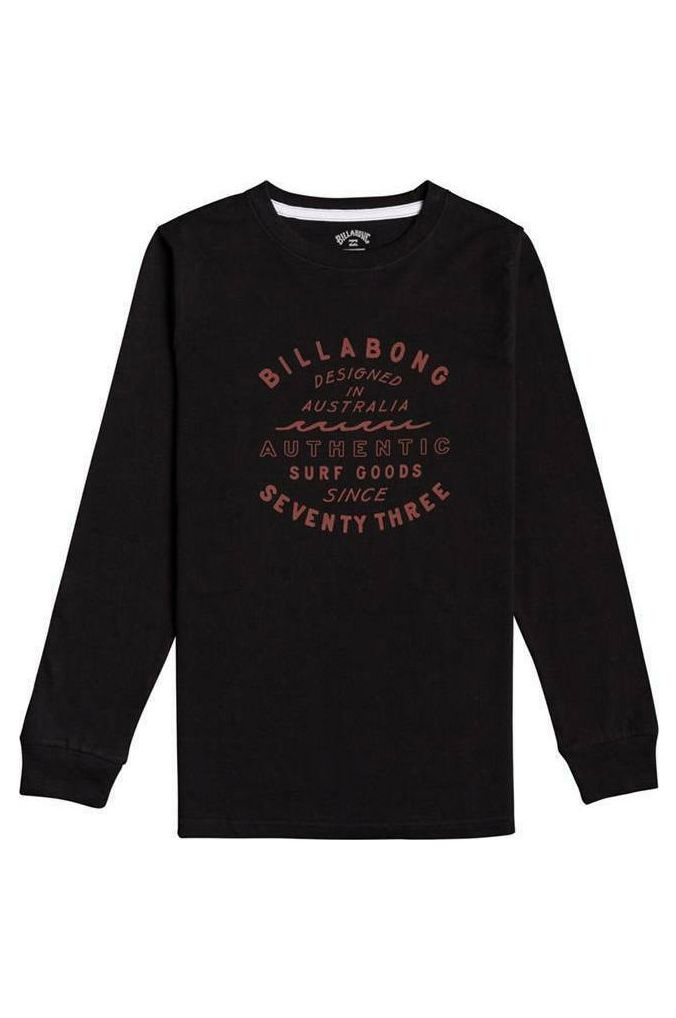 L-Sleeve Billabong TYPE WAVE LS BOY Black