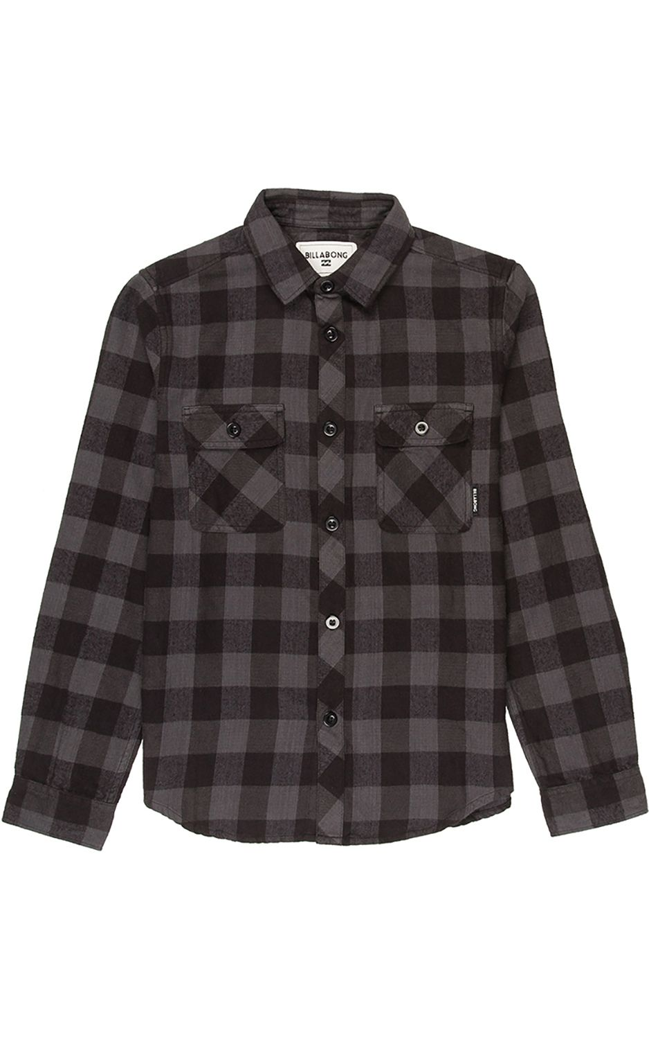 Camisa Billabong ALL DAY FLANNEL LS Black