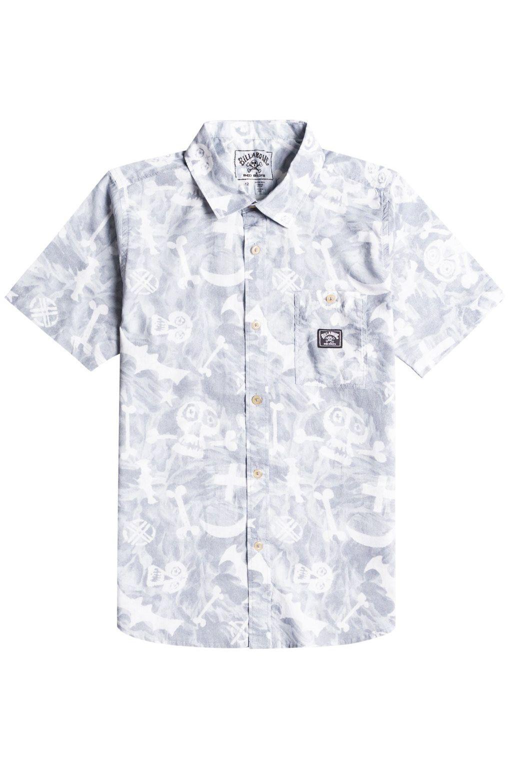 Billabong Shirt BAD BILLY SS SEASONAL COLLECTION Alloy