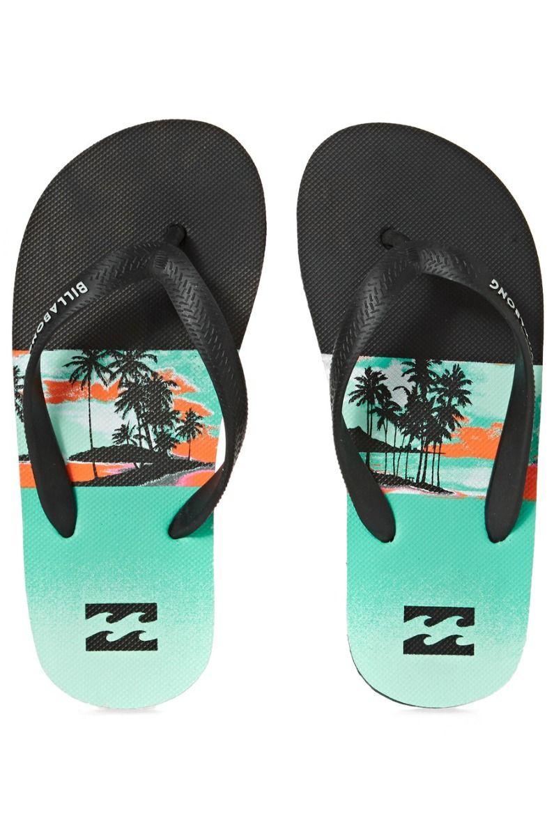 Billabong Sandals TIDES PRINT BOY Aqua