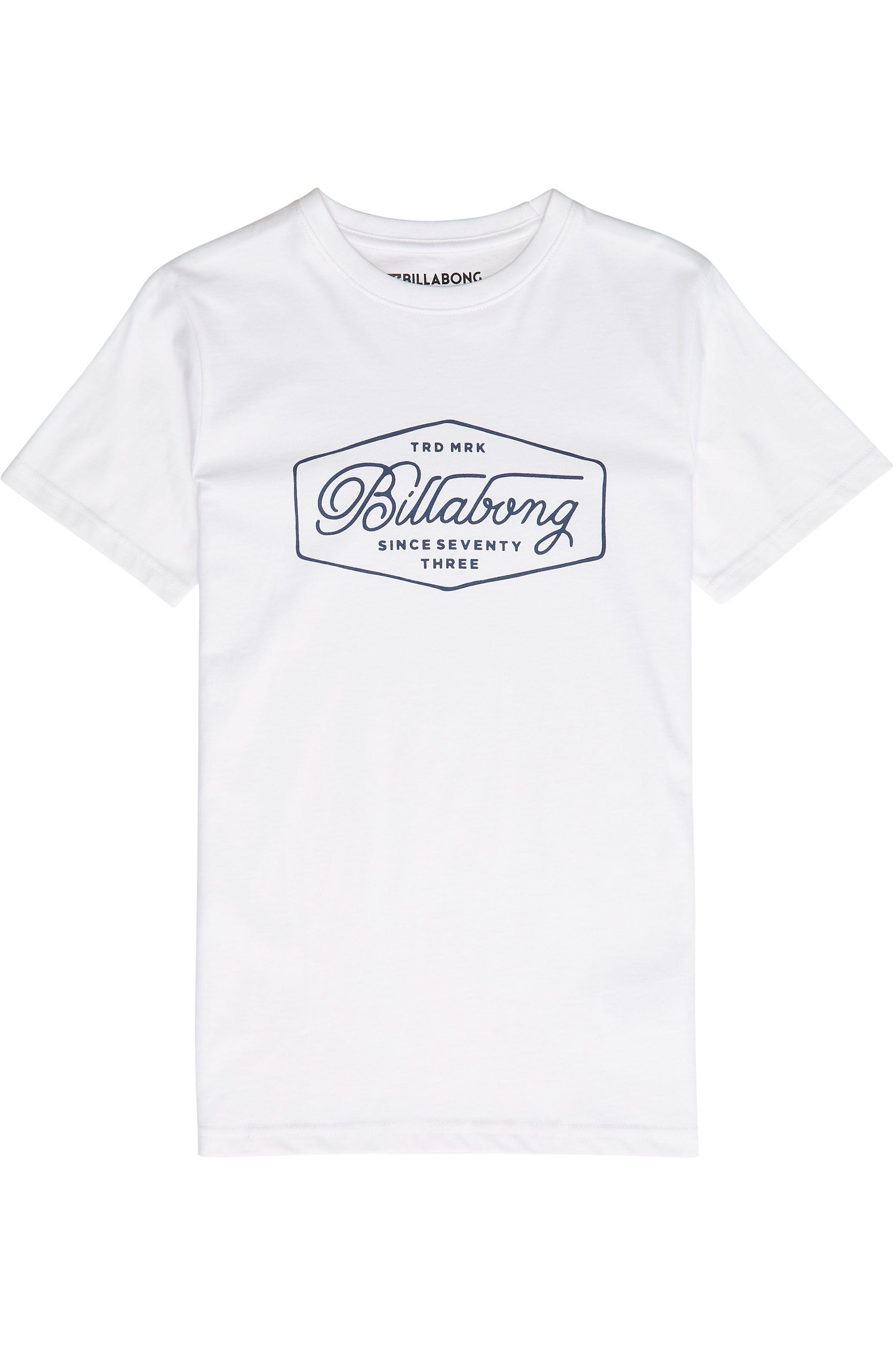 T-Shirt Billabong TRADEMARK White