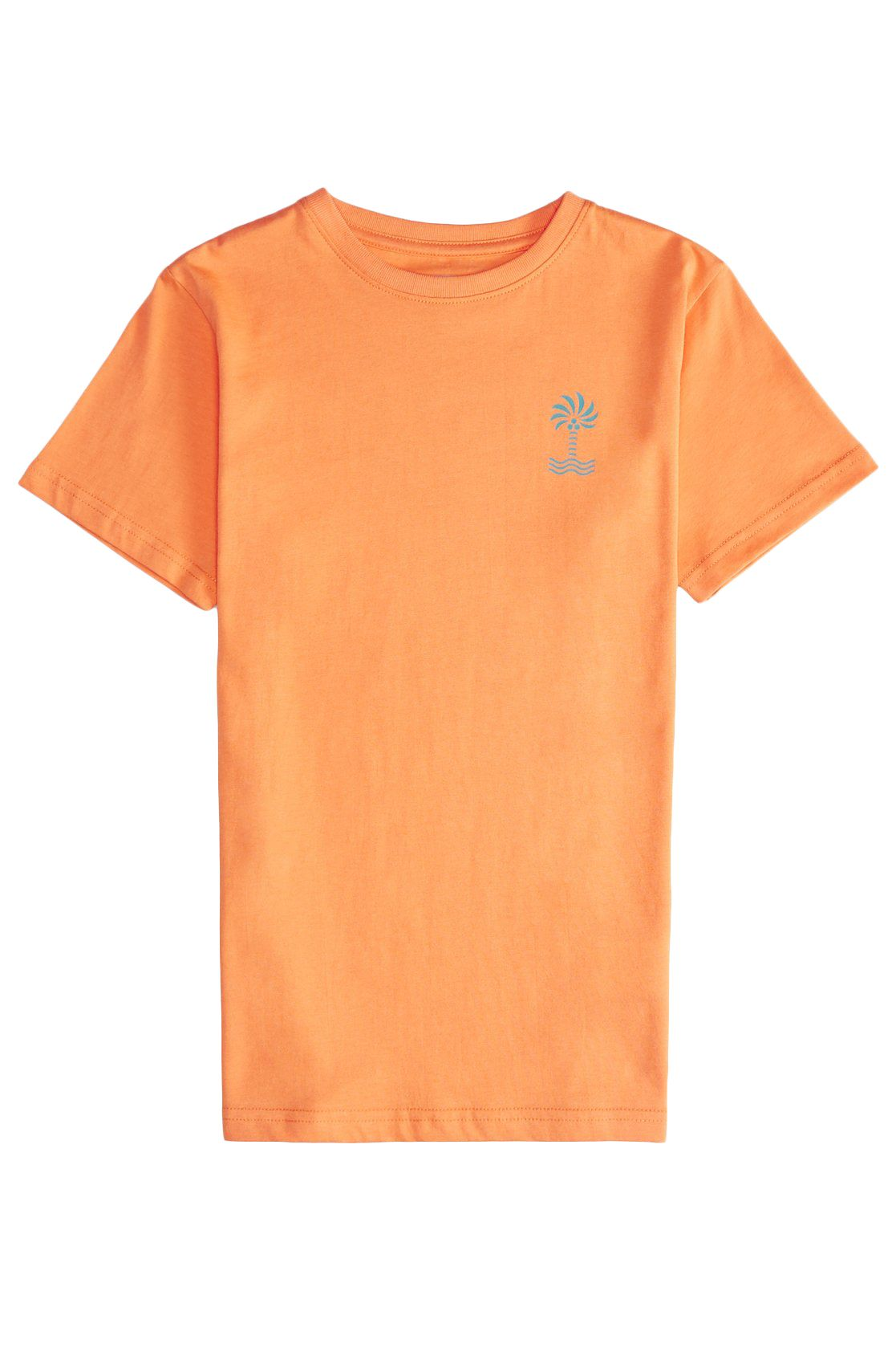 T-Shirt Billabong PALM SPIN Tangerine