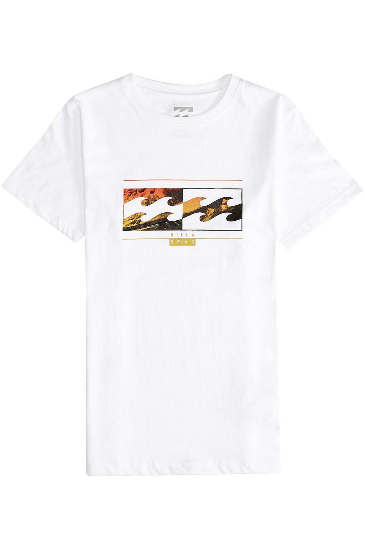T-Shirt Billabong INVERSED White