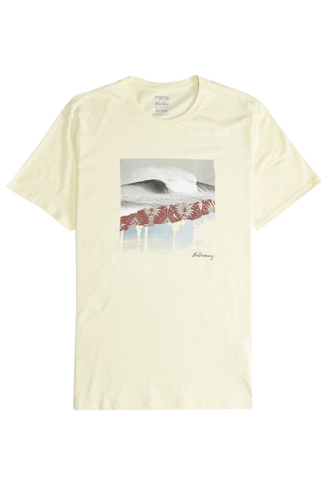 T-Shirt Billabong STEP BACK Mellow Yellow