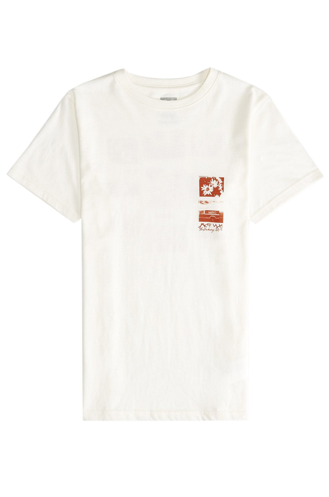 T-Shirt Billabong EXPOSURE Snow