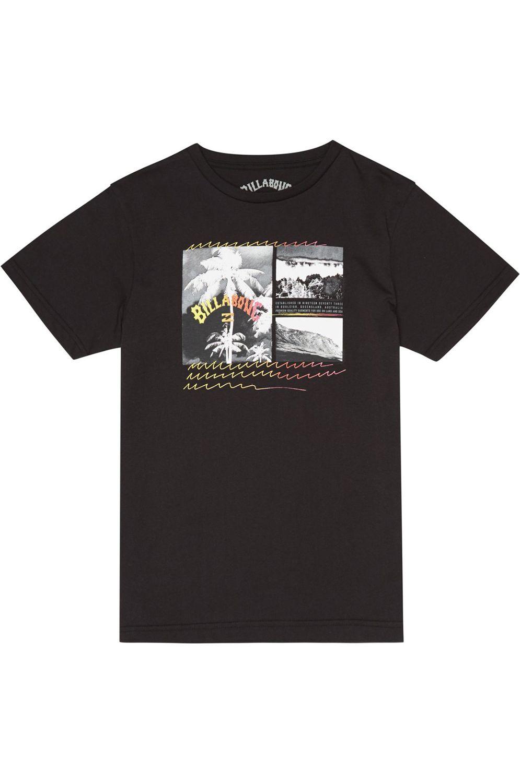 T-Shirt Billabong CRASH BOY Black