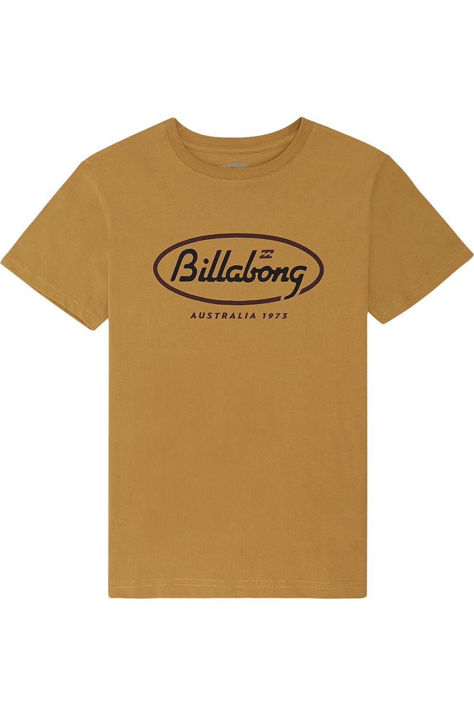T-Shirt Billabong STATE BEACH BOY Gold