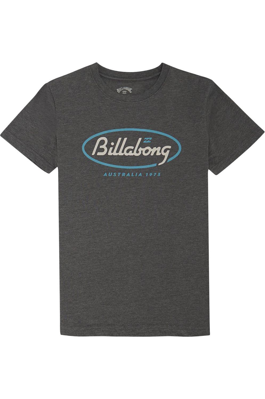 Billabong T-Shirt STATE BEACH BOY Dark Heather
