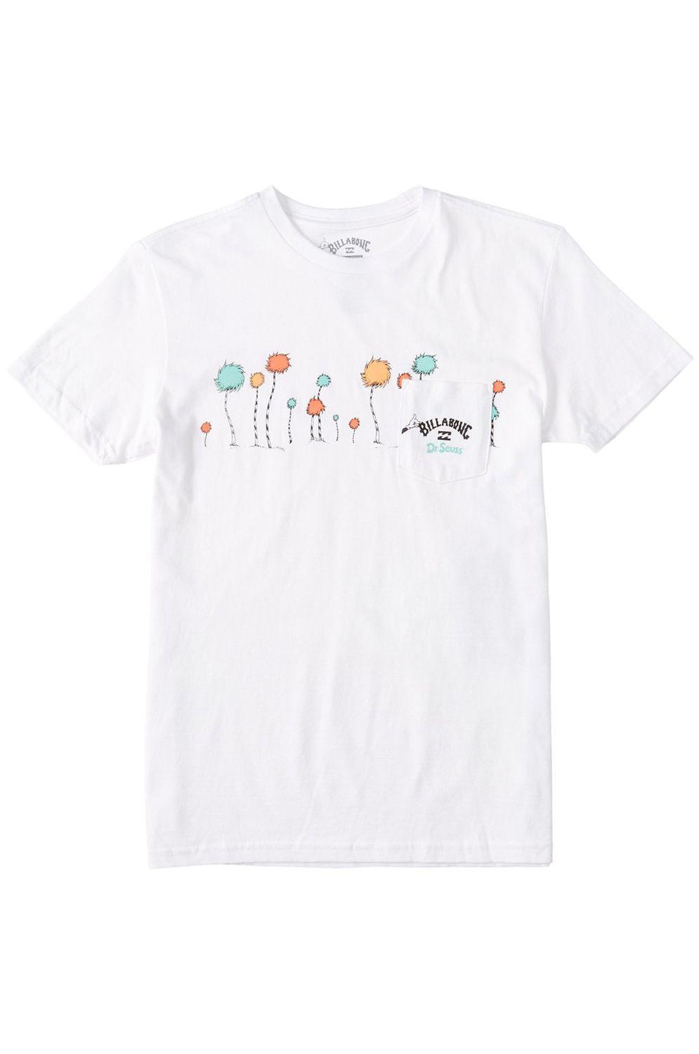 T-Shirt Billabong TRUFFULA DR SEUSS White