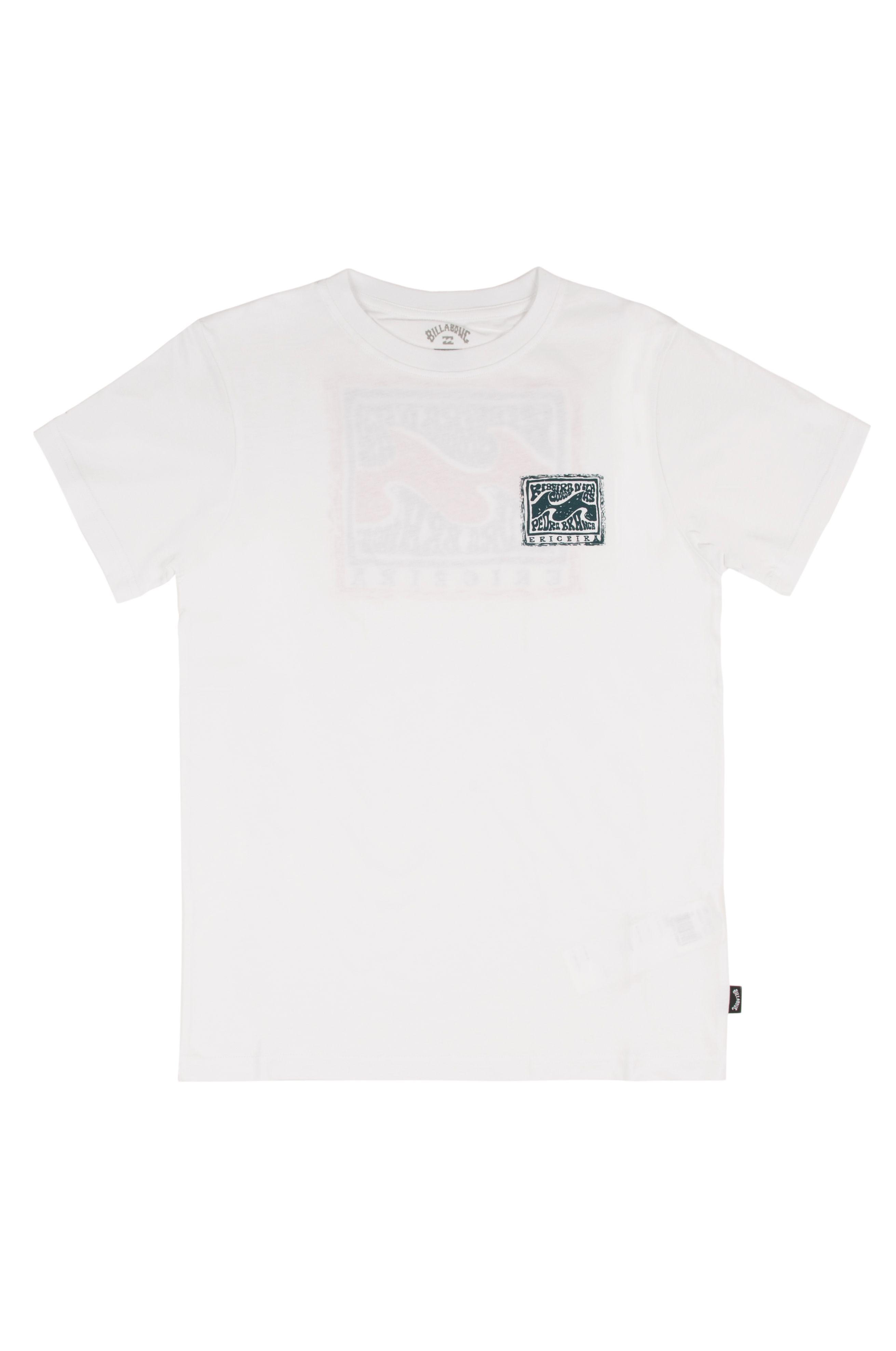T-Shirt Billabong ERICEIRA SPOTS BOY DESTINATION White