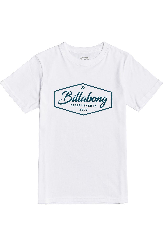 Billabong T-Shirt TRADEMARK SS BOY White