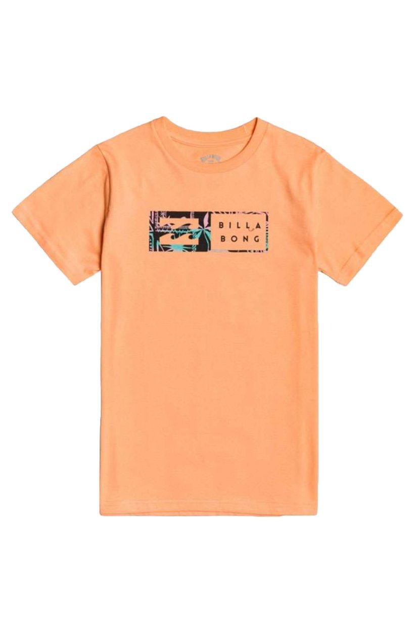T-Shirt Billabong INVERSED SS BOY Dusty Orange