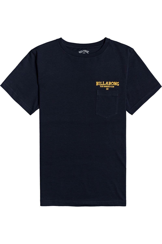 Billabong T-Shirt PIER BOMBER SS BOY Navy