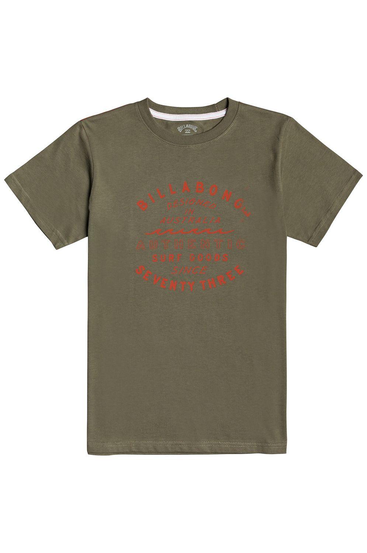 Billabong T-Shirt TYPE WAVE SS BOY Military