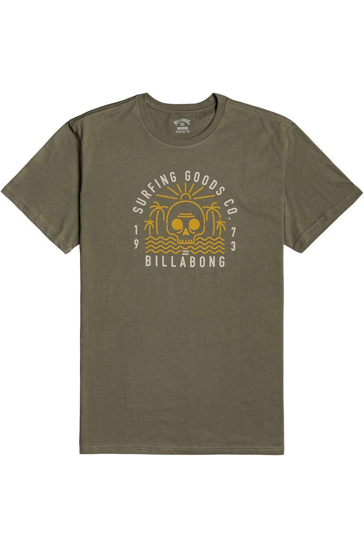 T-Shirt Billabong ROAD END SS BOY Military