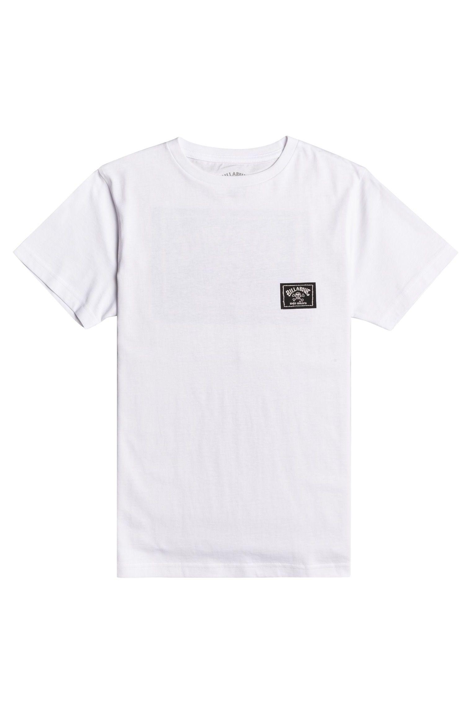 T-Shirt Billabong BAD BILLY ARCH SS BO SEASONAL COLLECTION White
