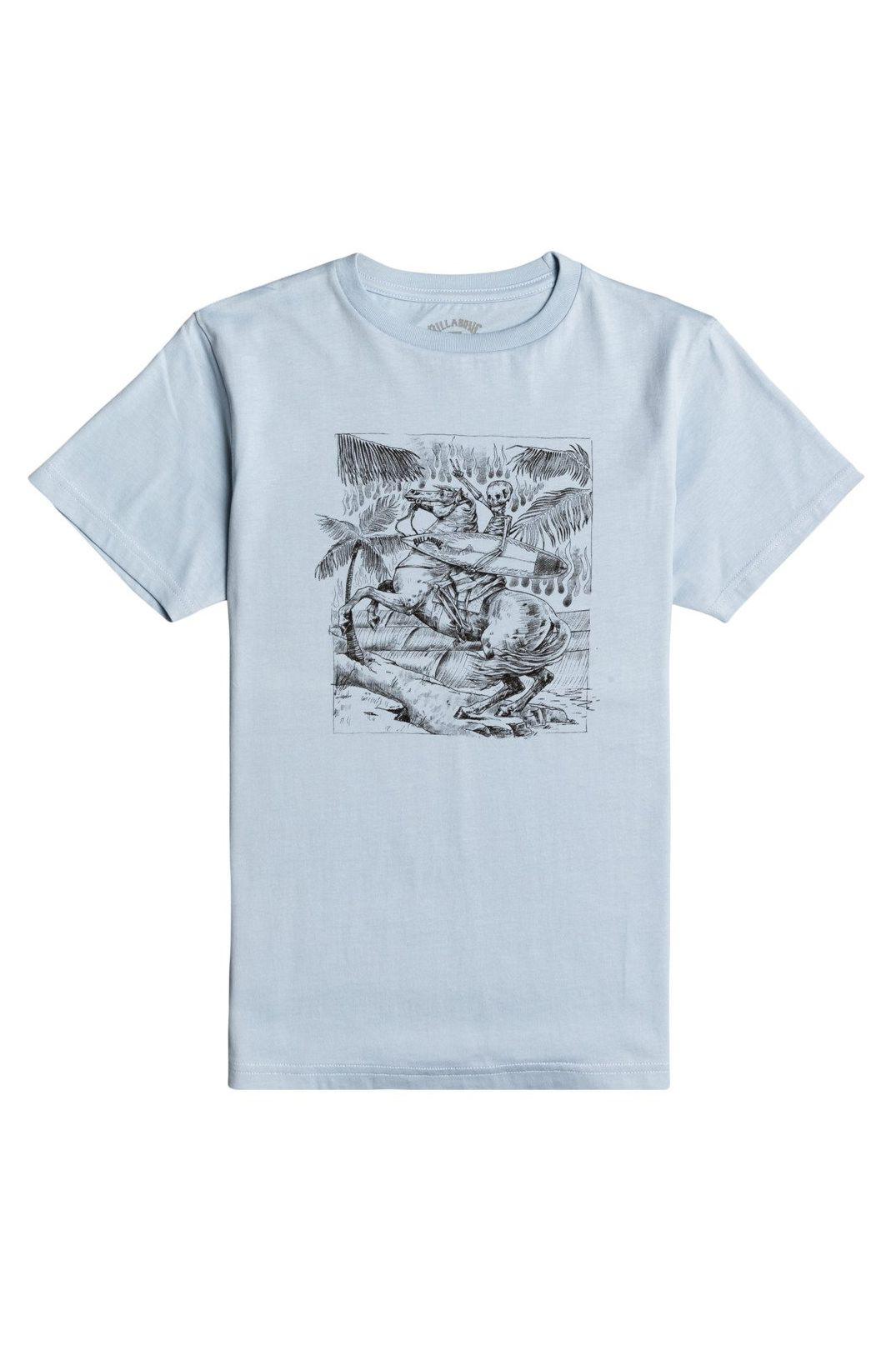 T-Shirt Billabong HELL RIDE SS BOY Smoke Blue