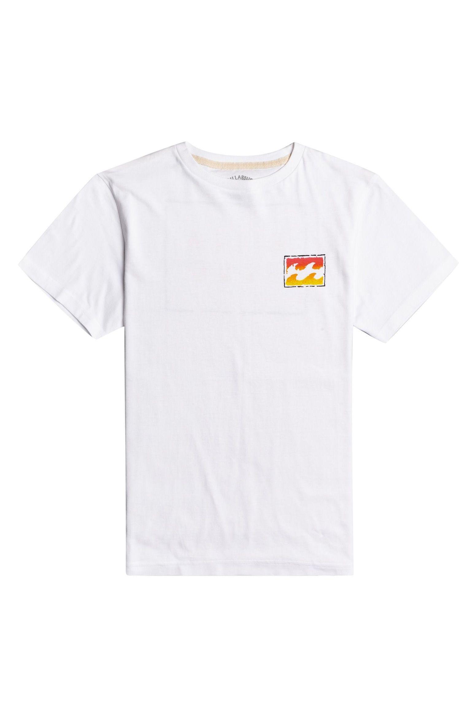 T-Shirt Billabong UNITY PAINT SS BOY SPORTING GOOD PROGR. White