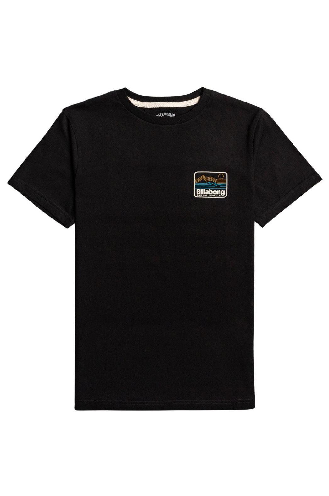 Billabong T-Shirt DREAM COAST SS BOY SPORTING GOOD PROGR. Black