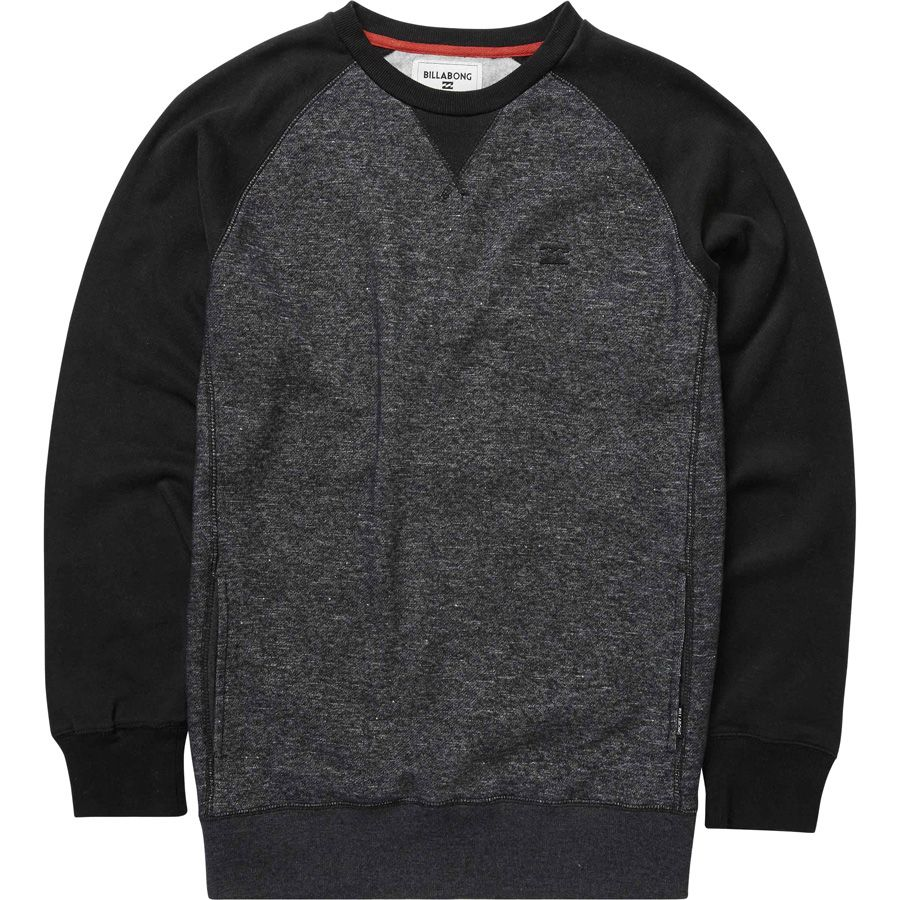 Sweat Basica Billabong BALANCE BOY Black Heather