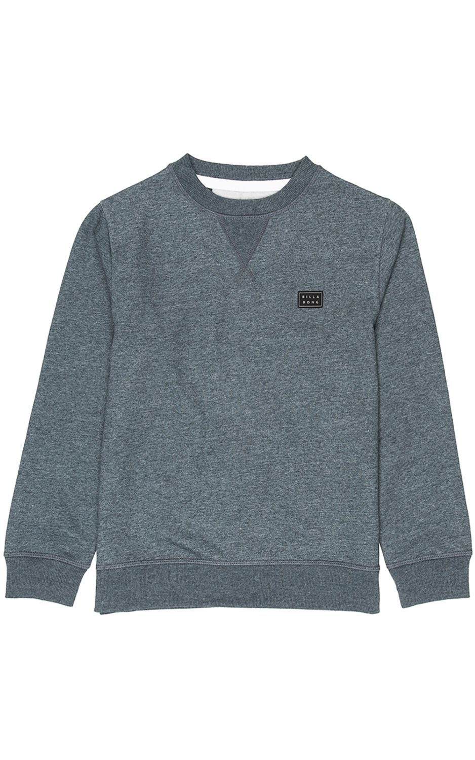 Sweat Basica Billabong ALL DAY BOY Dark Slate Htr