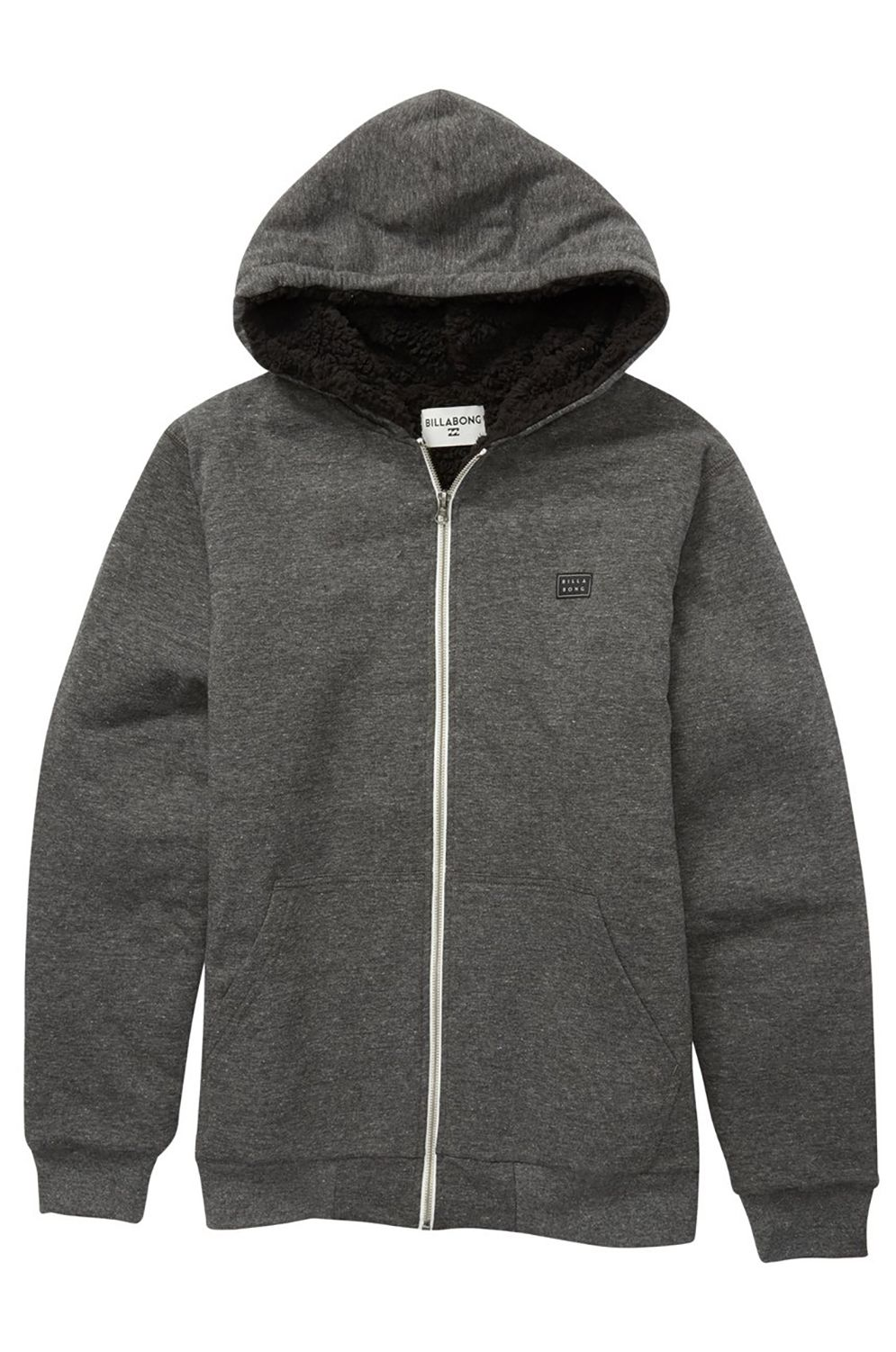 Sweat Sherpa Billabong ALL DAY SHERPA ZIP B Black