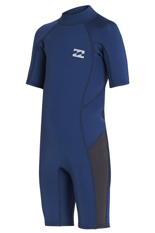 Billabong Wetsuit 202 ABSO BZ SS FL SP Blue