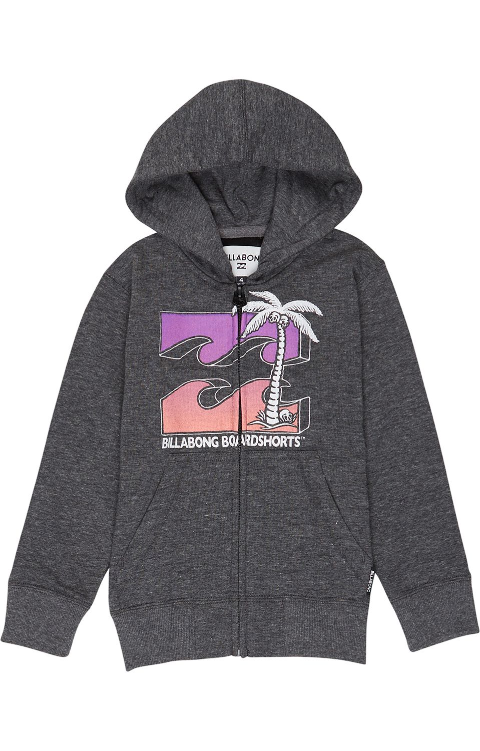 Sweat Fecho Billabong KILLERAVE Black Heather
