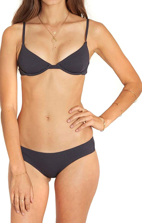 Bikini Top Billabong LUV MYSELF PIN UP Black Sands