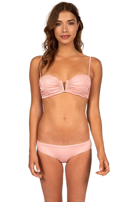 Billabong Bikini Top S.SEARCHER BUSTIER Blush