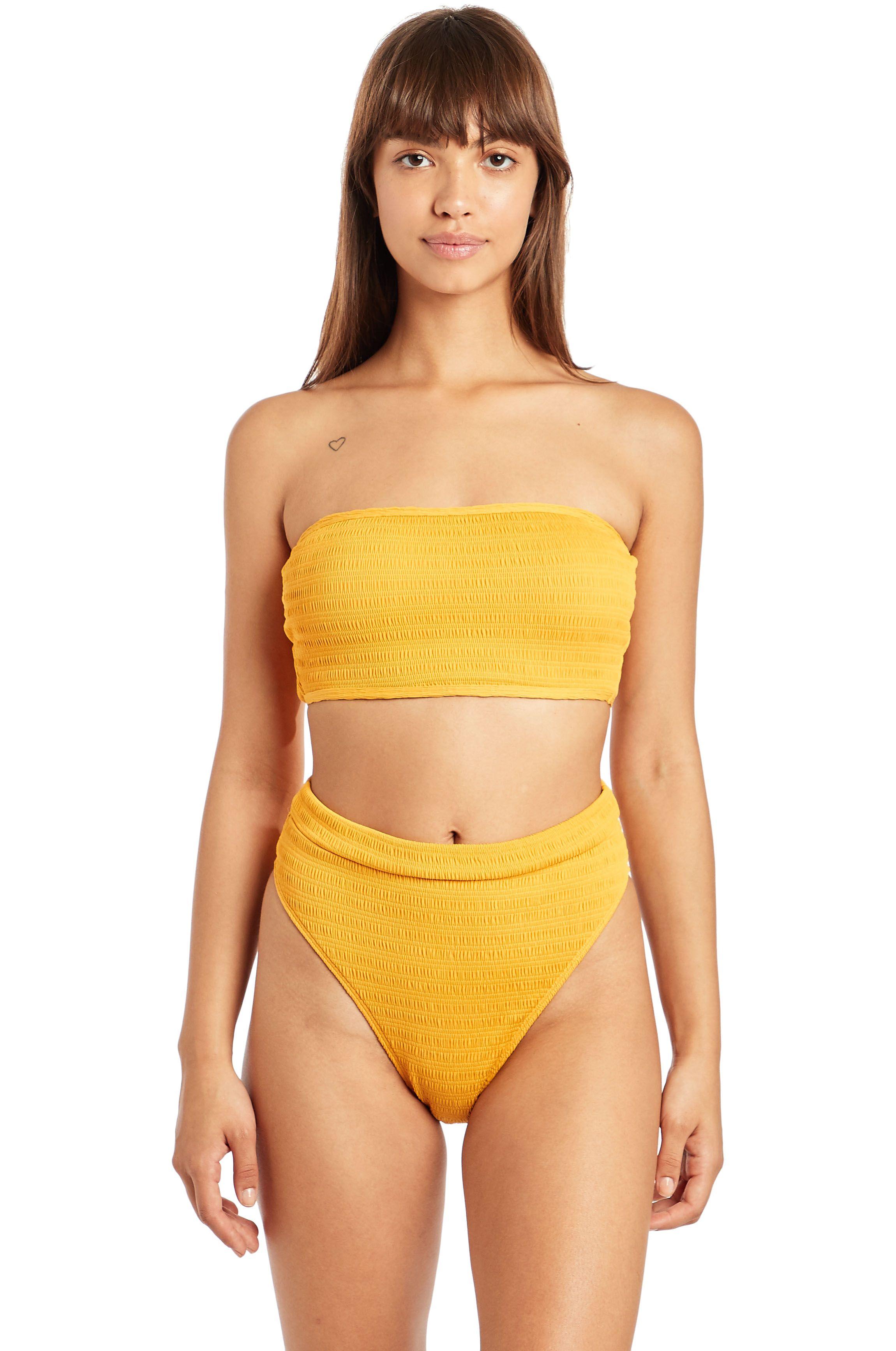 Bikini Tanga Billabong SUN RISE RISE PANT Golden Glow