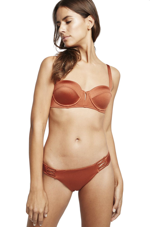 Bikini Tanga Billabong TROPIC SOL SEARCHER Henna