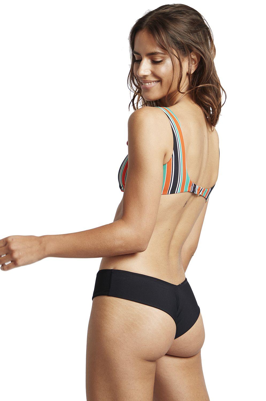 Bikini Tanga Billabong FIJI SOL SEARCHER Black Pebble