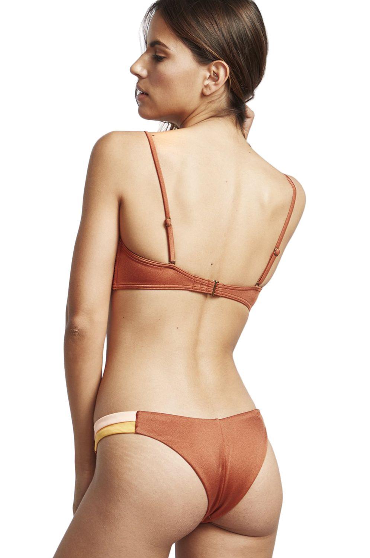 Bikini Top Billabong BUSTIER SOL SEARCHER Henna