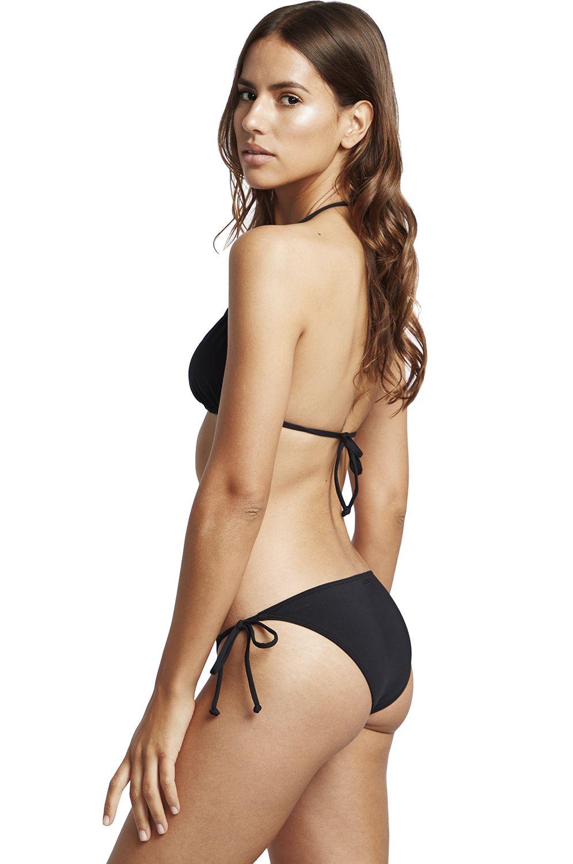 Bikini Top Billabong SLIDE TRI SOL SEARCHER Black Pebble