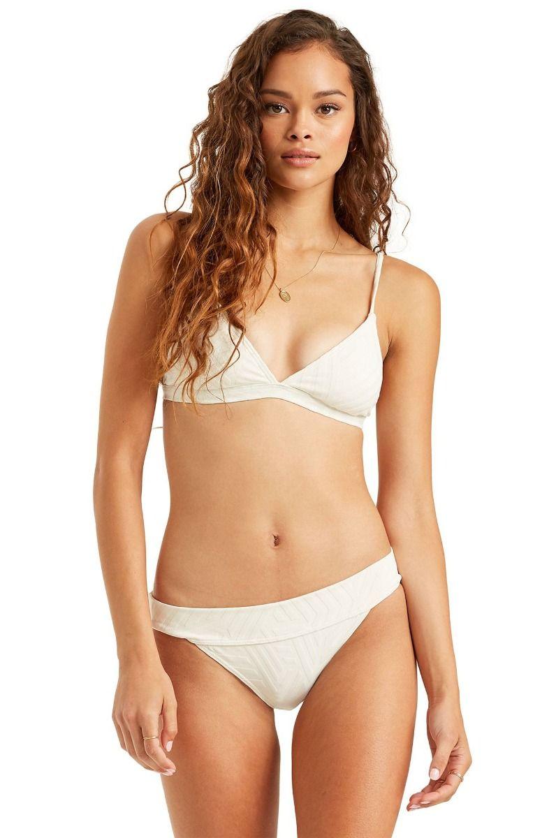 Billabong Bikini Top PEEKY DAYS TRI Salt Crystal