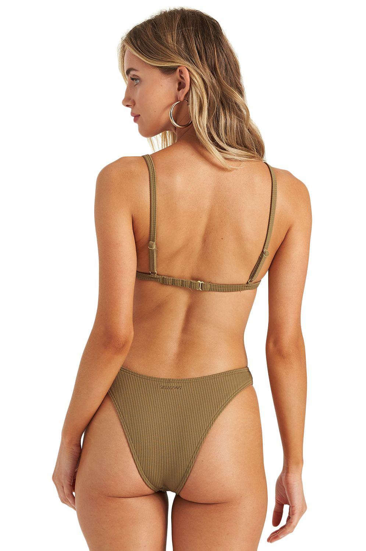 Bikini Top Billabong SAND DUNES TRI Olive